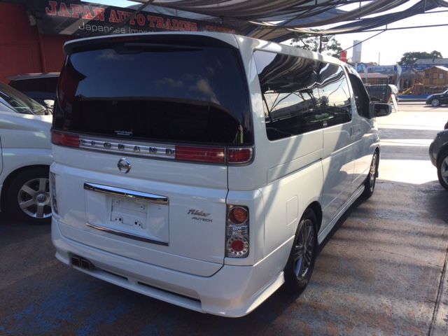 NISSAN ELGRAND E51 RIDER SERIES3 (SOLD!!!)