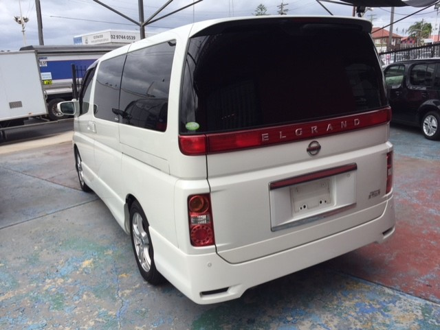 NISSAN ELGRAND E51 HIGHWAY STAR(SOLD!!!)
